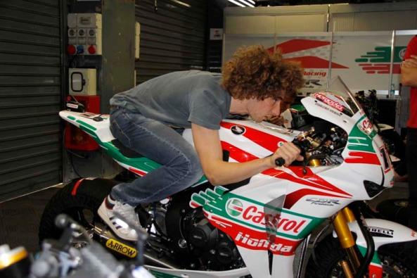 Marco Simoncelli. Foto: motogp-mania.com